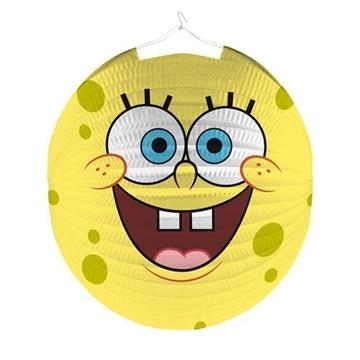 Obrázek Závěsný lampion kulatý Sponge Bob 25 cm