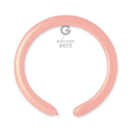 Obrázek z Modelovací balonky profesionální - 100ks - Baby pink