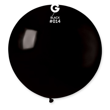 Obrázek Balon jumbo černý 100 cm