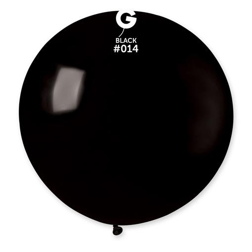 Obrázek z Balon jumbo černý 100 cm