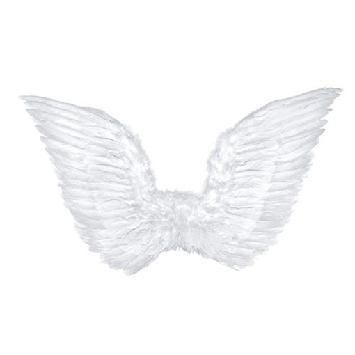 Obrázek z Andělská křídla bílá velká 75 x 45 cm