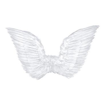 Obrázek Andělská křídla bílá velká 75 x 45 cm
