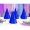Obrázek z Papírové čepičky holografické modré 6 ks