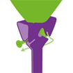 Obrázek z Papírové BIO tyčky na balonky 10ks