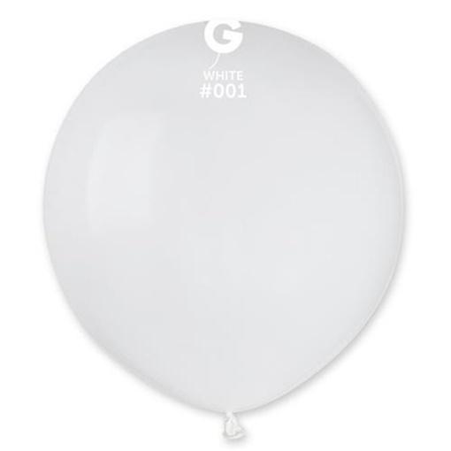 Obrázek z Balonek bílý 48 cm - 50 ks