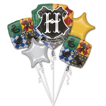 Obrázek Sada foliových balonků Harry Potter - 5 ks