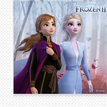 Obrázek Papírové ubrousky Frozen 2 - 20 ks