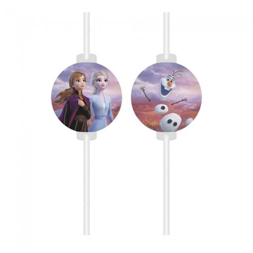 Obrázek z Party brčka Frozen 2 - 4 ks