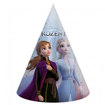 Obrázek Papírová čepička Frozen 2 - 6 ks