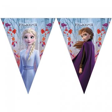 Obrázek Vlaječková girlanda Frozen 2 - 230 cm
