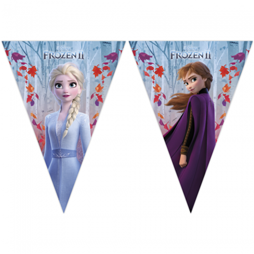 Obrázek z Vlaječková girlanda Frozen 2 - 230 cm