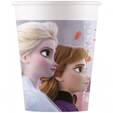 Obrázek Papírové party kelímky Frozen 2 - 8 ks