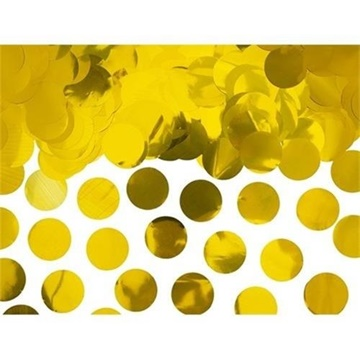 Obrázek Konfety zlatá kolečka - 240 g