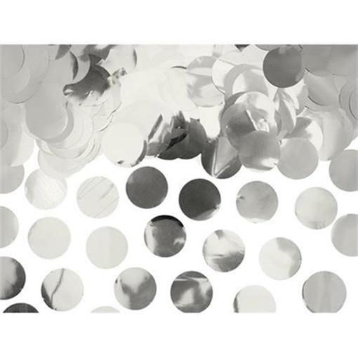 Obrázek z Konfety stříbrná kolečka - 240 g