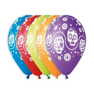 Obrázek Latexový balonek Halloween CoCo 30 cm