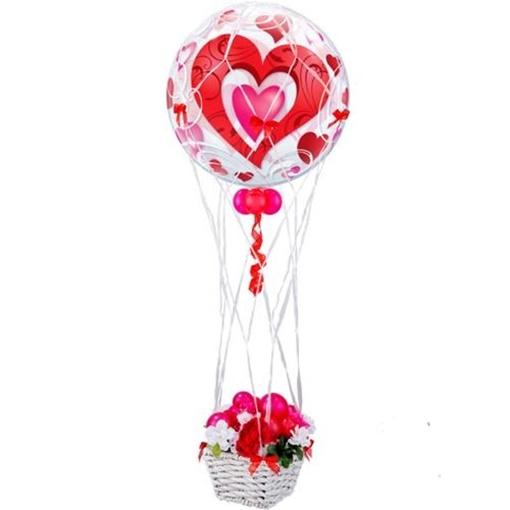 Obrázek z Dekorační síťka na balon 40 cm