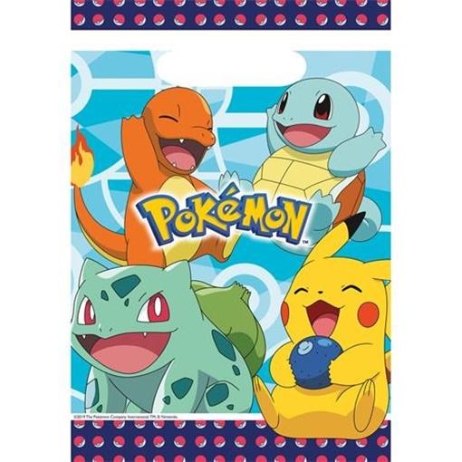 Obrázek z Party tašky Pokemon 8 ks