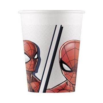 Obrázek Papírové kelímky Spiderman Super Hero 8 ks