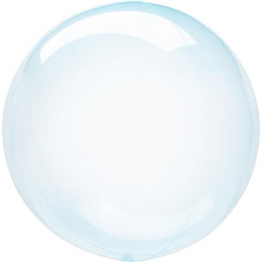 Obrázek z Dekorační bublina průhledná modrá 51 cm