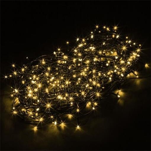 Obrázek z LED světelný řetěz - bílé světlo 8 m