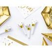 Obrázek z Party frkačky papírové bílé s hvězdičkami 6 ks