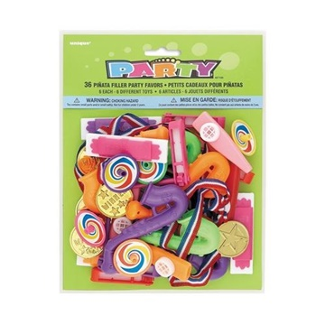Obrázek Party hračky do piňaty 36 ks