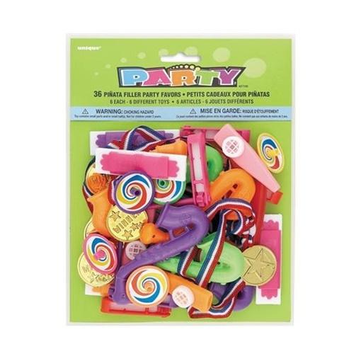 Obrázek z Party hračky do piňaty 36 ks