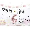 Obrázek z Party nápis kočička - party time 130 cm