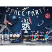 Obrázek z Ozdoba na dort Space 7 ks