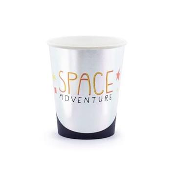 Obrázek Papírové party kelímky Space 6 ks