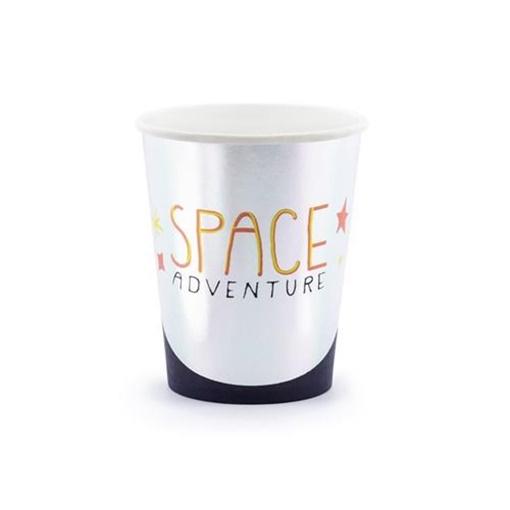 Obrázek z Papírové party kelímky Space 6 ks