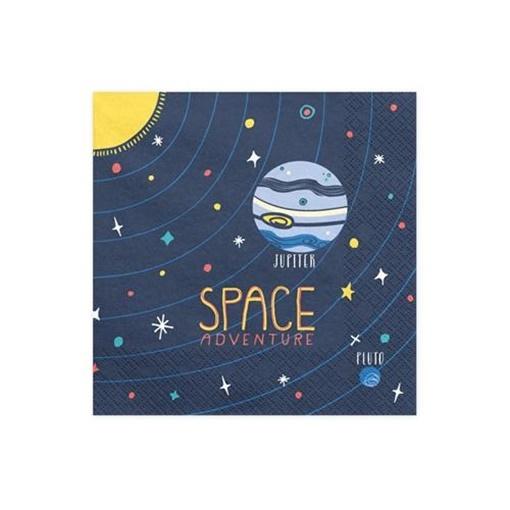 Obrázek z Papírové ubrousky Space 20 ks