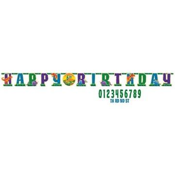 Obrázek Party nápis Dino Happy Birthday 323 cm