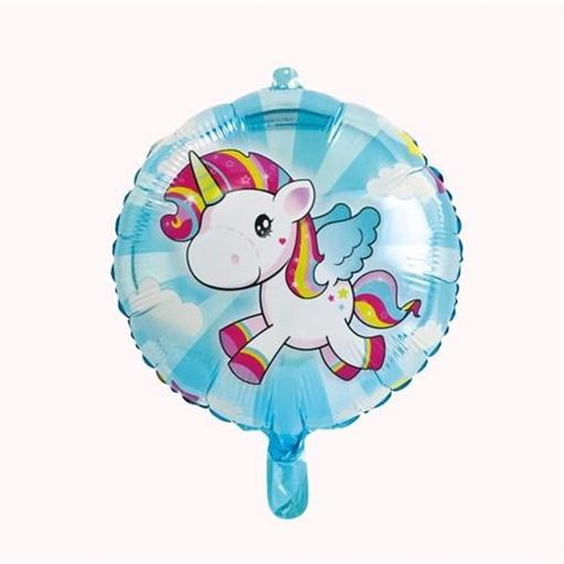 Obrázek z Foliový balonek Jednorožec 45 cm