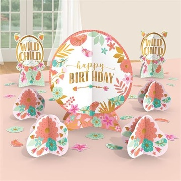 Obrázek Dekorace na stůl Boho Birthday 27 ks