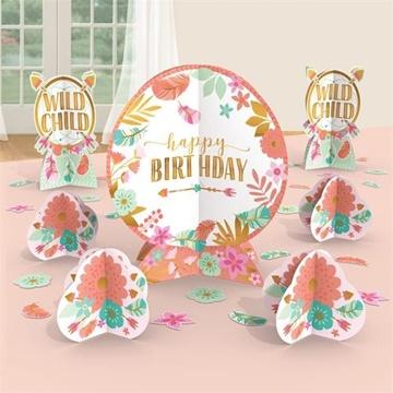 Obrázek Dekorace na stůl Boho Birthday 7 ks