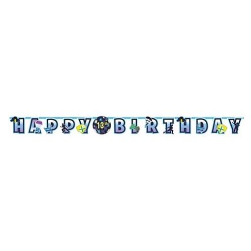Obrázek z Party nápis Battle Royal - happy birthday 320 cm