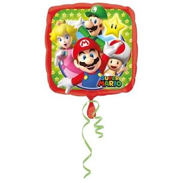 Obrázek Foliový balonek Super Mario 43 cm