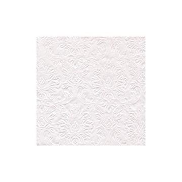 Obrázek Papírové ubrousky perleťové s ražbou 16 ks