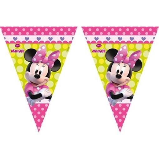 Obrázek z Vlaječková girlanda Minnie Mouse 300 cm
