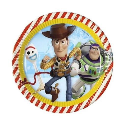 Obrázek z Party talíře Toy Story 23 cm, 8 ks