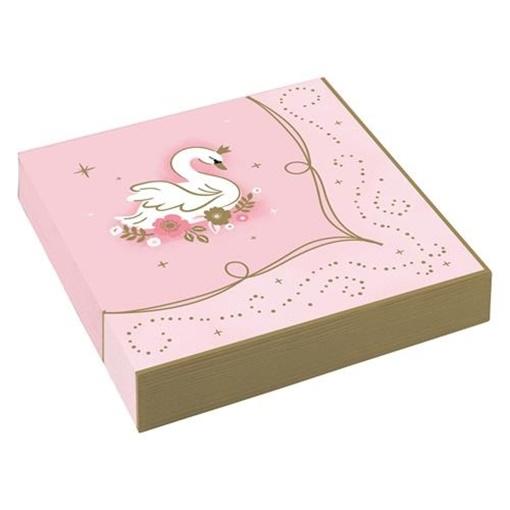 Obrázek z Papírové ubrousky Na den princeznou 16 ks