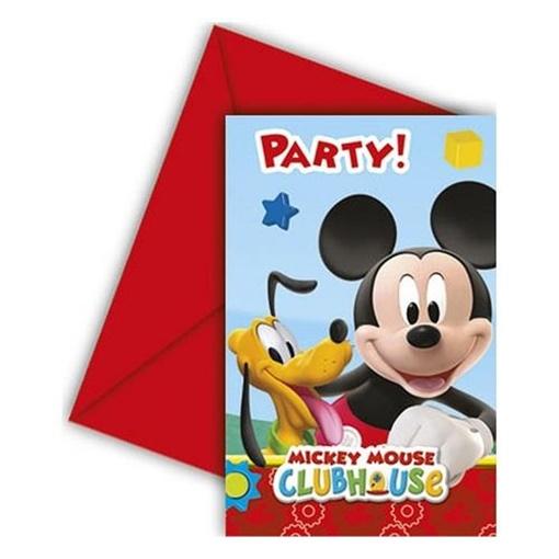Obrázek z Party pozvánky Mickey Playful 6 ks