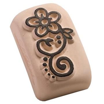 Obrázek Tetovací razítko střední - Květinový ornament