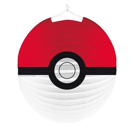 Obrázek z Závěsný lampion kulatý Pokemon 25 cm