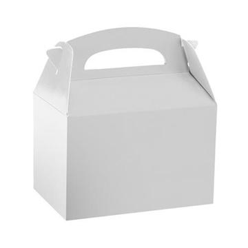 Obrázek Dárková krabička bílá 12 x 10 x 15 cm