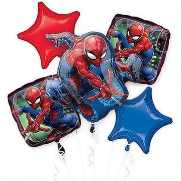 Obrázek Sada foliových balonků Spiderman - 5 ks