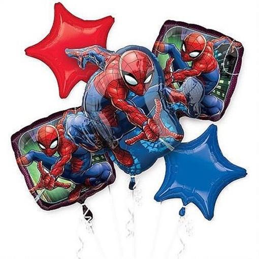 Obrázek z Sada foliových balonků Spiderman - 5 ks