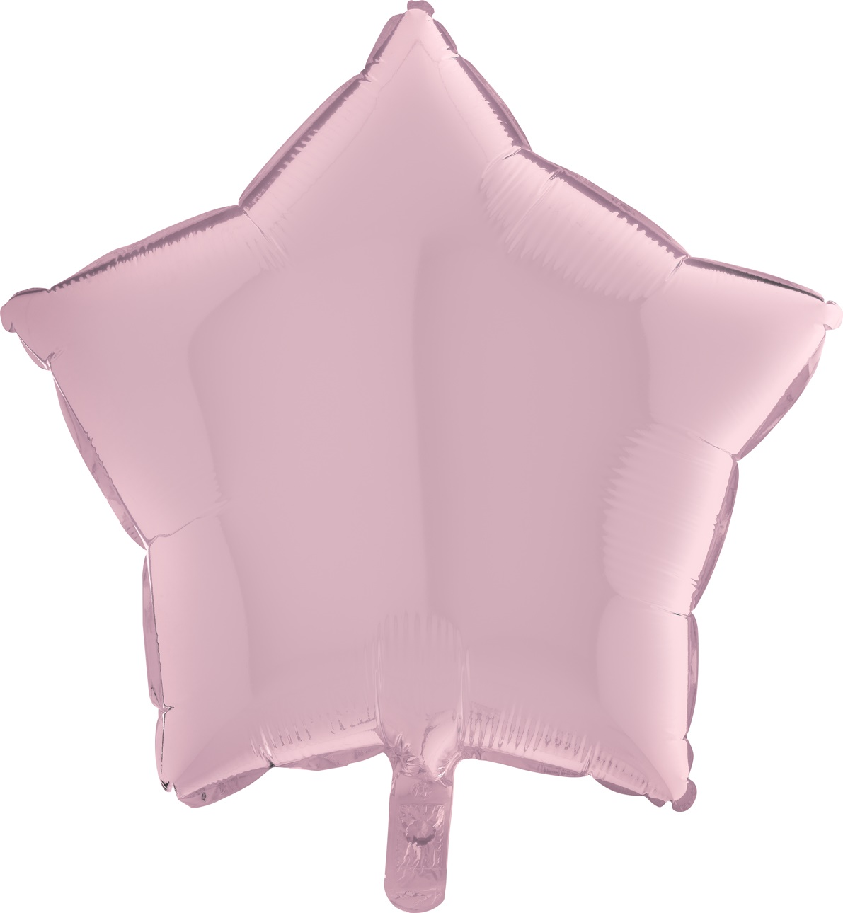 Pastelově růžová hvězda