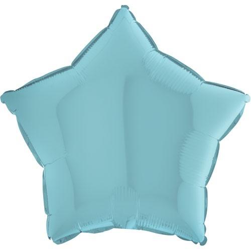 pastelová modrá hvězda